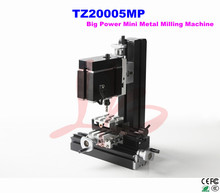 Electroplated Metal type! 60W DIY mini milling machine TZ20005MP lathe