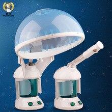 Propagace Modrá + bílá Combo ozonová péče o vlasové oleje a sauna obličejový parní stroj Ionic Aromaterapie difuzor mlha vodní postřikovač