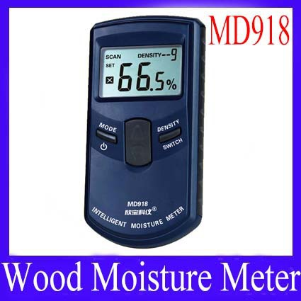 Digital wood moisture meter md918 10 grades of wood for Wood floor moisture meter