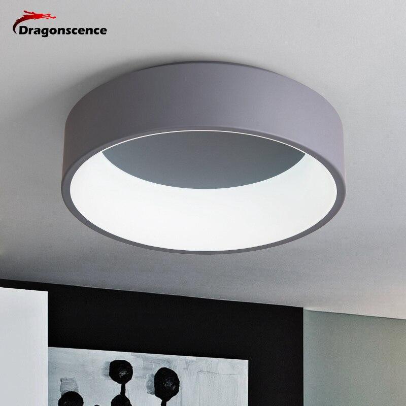 Dragonscence Runde Kreis Aluminium Moderne Led Deckenleuchte Lampe Für  Wohnzimmer Schlafzimmer Esstisch Büro Tagungsraum