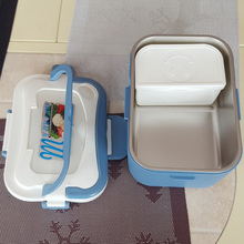 Electric Food Heater Lunch Box 304 Stainless Steel Inner Pot 12V/24V/220V Food Warmer Portable Lunch Box Heater Rice Travel