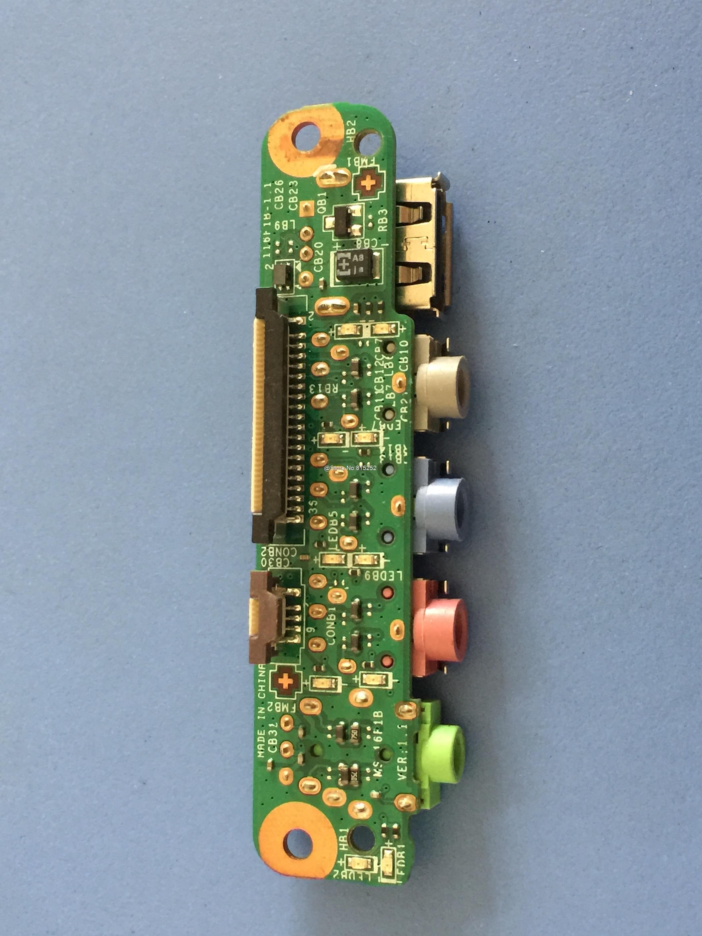 Ноутбук аудио миниатюрные Наушники разъем для MSI GT680 GX680 GT660 GT663 GX660R MS 16F1B MS 16F1 MS 16F11 звуковая плата с подключением по USB 100% новый