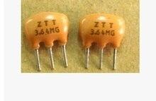 20 ШТ. Керамические Резонаторы На Три Фута 3.64 МГЦ 3.64 М ZTT3.64M 3 P