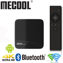 MECOOL M8S PRO L Android 7.1 box Amlogic S912 3GB DDR3 16/32GB  2.4G/5.8G WiFi Support Bluetooth H.265 4K Smart IPTV Set Top Box mecool m8s pro l 4k tv box android 7 1 smart tv box 3gb 16gb amlogic s912 cortex a53 cpu bluetooth 4 1 hs with voice control