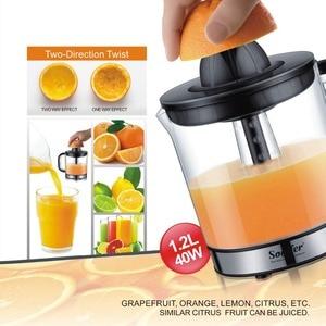 Image 2 - 스테인레스 스틸 오렌지 레몬 전기 Juicers 30W 과일 압착기 신선한 주스 가정용 Sonifer