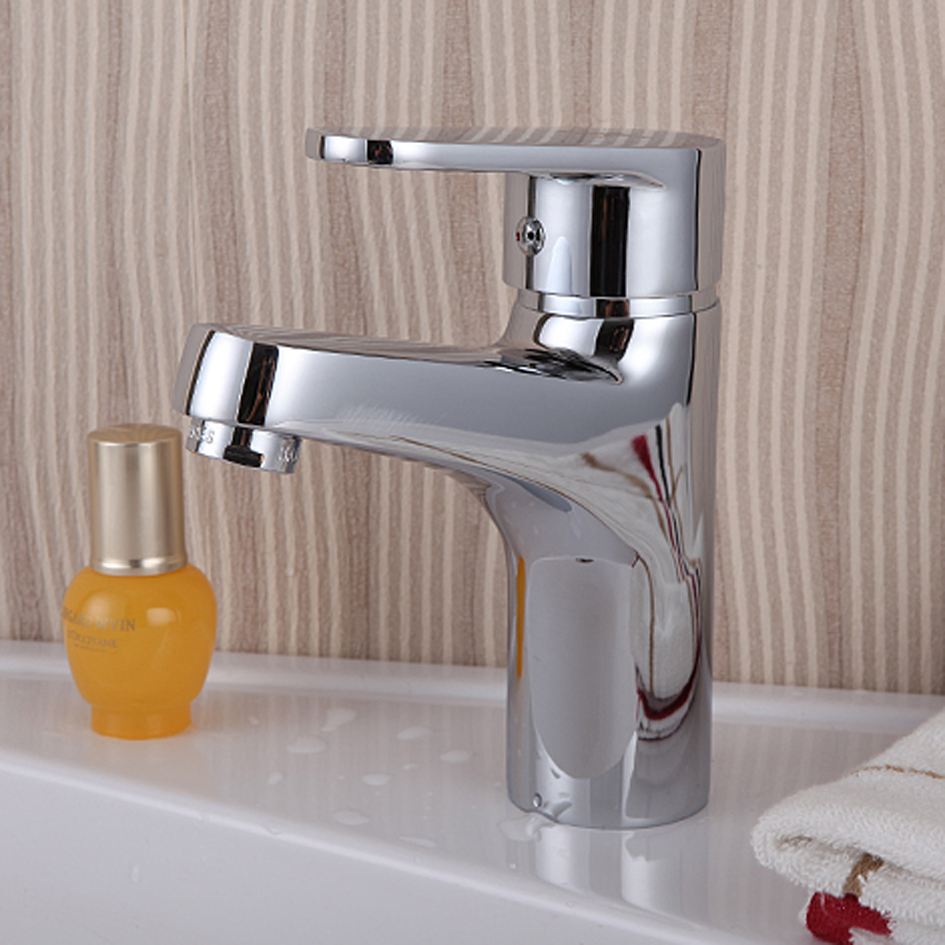 Free shipping washbasin faucet bathroom basin tap with ceramic valve ...