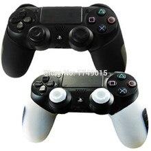 Half-Skin-Case-Cover Controller Dualshock Silicone-Rubber Slim Playstation 4 4--Case-X-2
