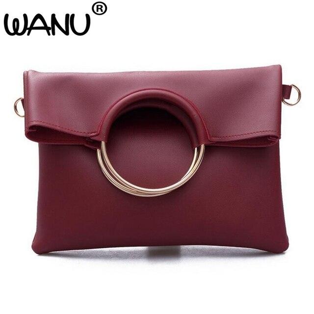 Composite Bag Handbags Ring Message Shoulder Round Handle Fashion Catwalk Frame Product Street Shooting Hot