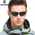 BAVIRON Al-Mg Alloy Outdoor Sunglasses Men's Polaroid Lenses Glasses  Original Brand Designer Flexible Cool UV400 Goggles 6806