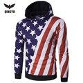 Hot Sale None Full Standard Sell 2016 Hoodies Mens Hombre Hip Hop Male Brand Hoodie Printing Sweatshirt Suit Men Fit Hoody Eylf