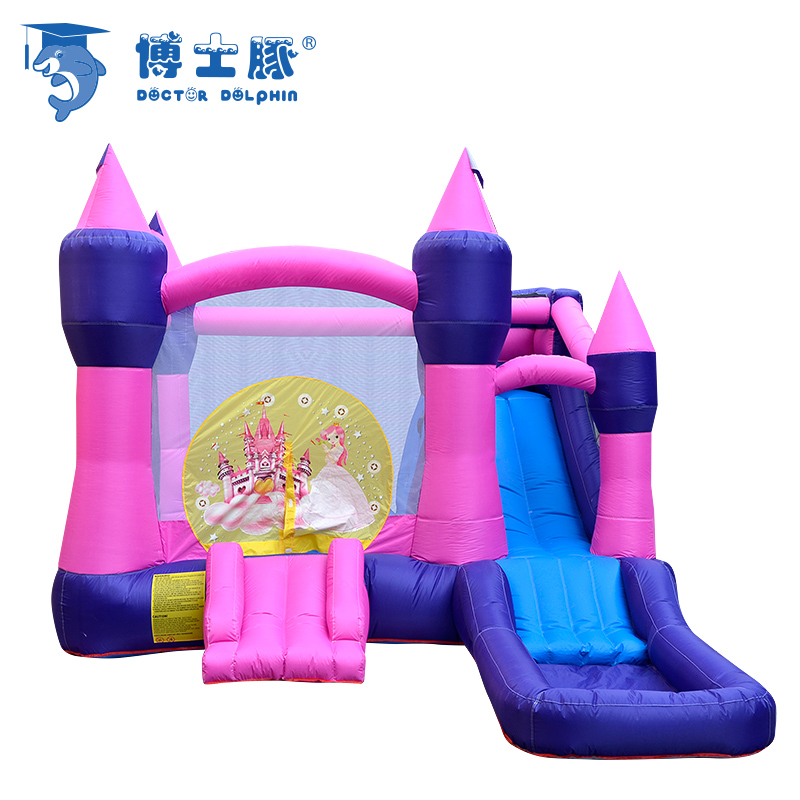 Inflatable Castle Bounce Princess House Outdoor Castle  Slide With blower For Kids Castle Jumping щетка скребок для снега airline 16595