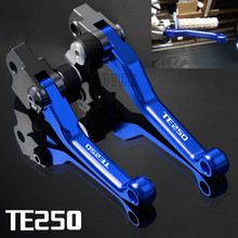 цена на For Husqvarna TE250 TE 250 2013-2017 2014 2015 2016 CNC Aluminum Motorcycle Dirt Pit Bike Motocross Pivot Brake Clutch Levers