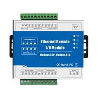 M110T 10Mhz High Speed Pulse Counter Modbus TCP Ethernet Remote IO Module (4DI+4DO+RJ45+RS485)