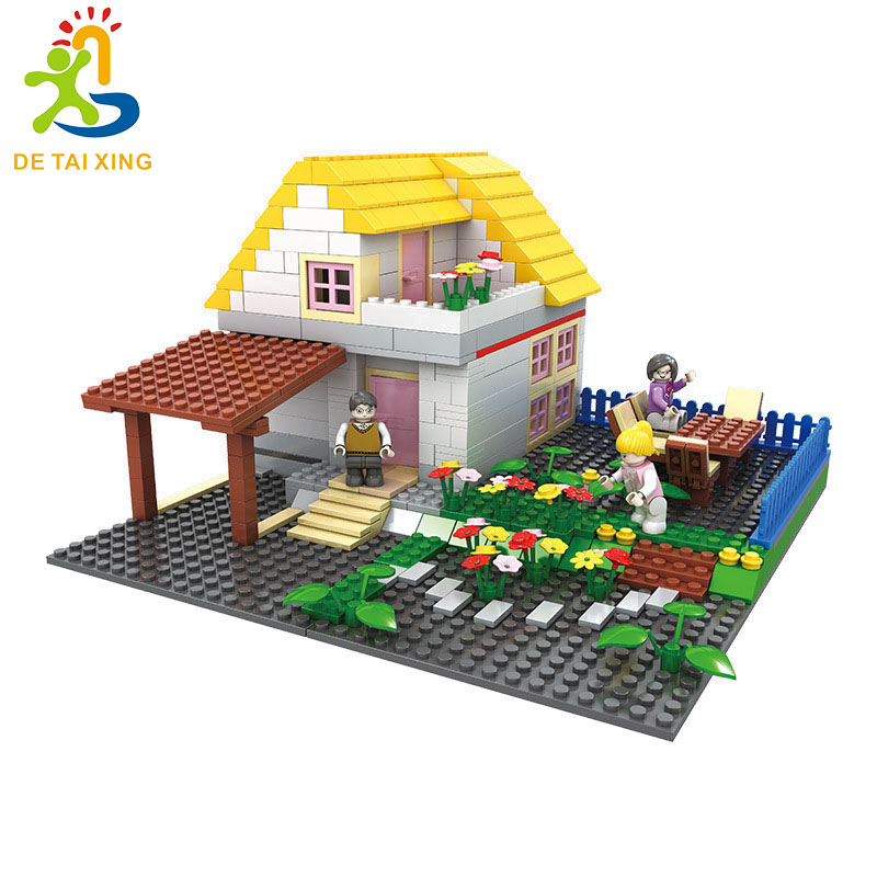 Hot Selling Mini Country house Legoe Lepin Building Blocks 499pcs Bricks Toys For Children Birthday Gift Compatible With Legoe lepin city town city square building blocks sets bricks kids model kids toys for children marvel compatible legoe
