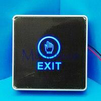 NC NO COM Push Touch Exit Button Door Eixt Release Button For Access Control System Suitable