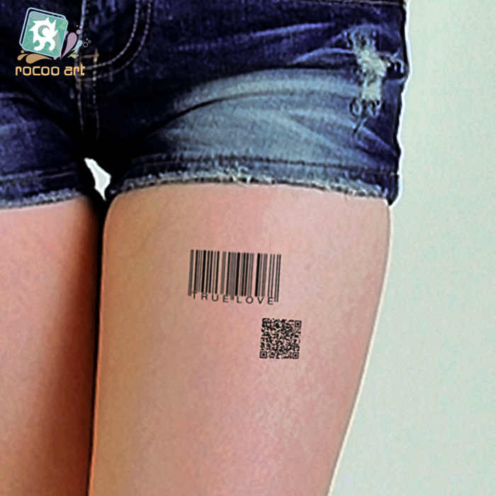 af98dcd1c ... 2pcs/lots Waterproof tattoo of male and female small fresh wrist tattoo  custom wholesale HC1077 ...