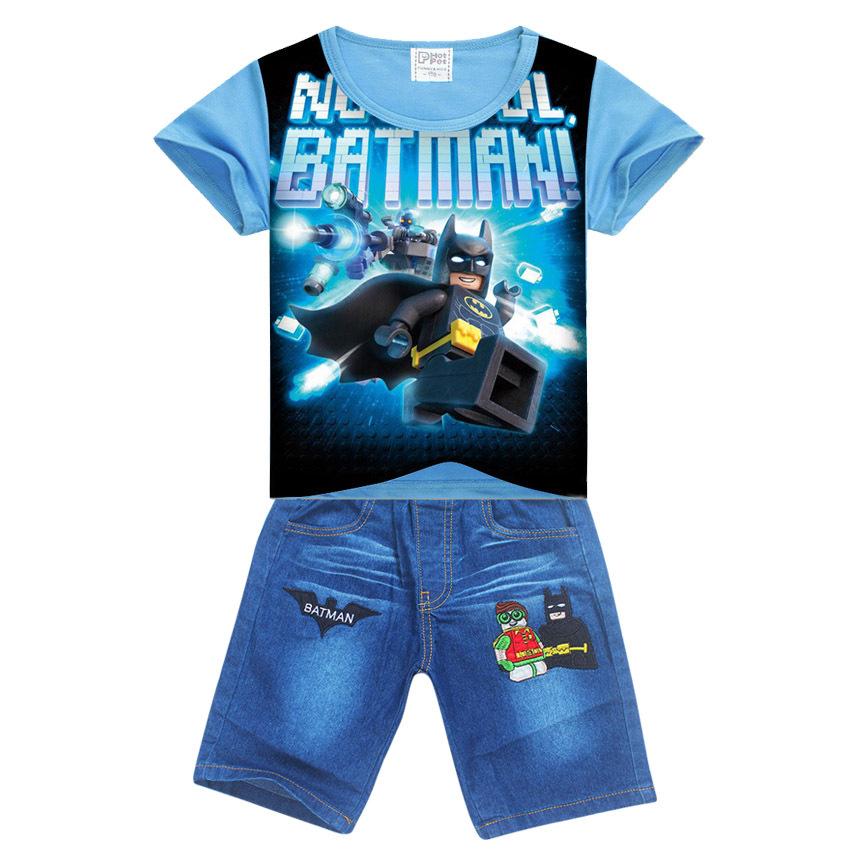 4 setslot legoe batman ninja ninjago enfants vtements ensemble de bande dessine enfants chemise