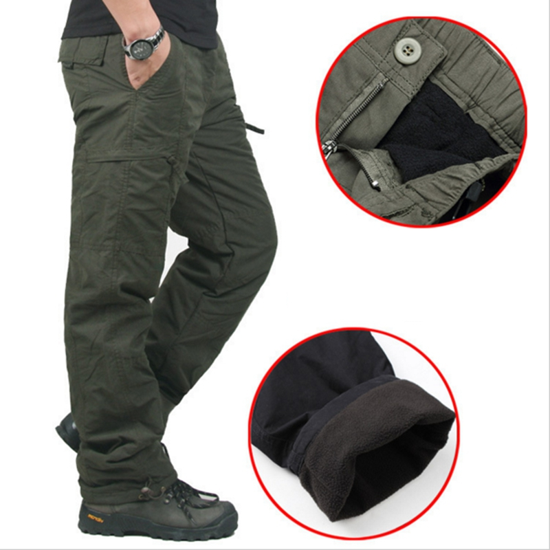 Thick Pants Clothing Cotton Trousers Military Army Tactical Double-Layer Winter Camouflage