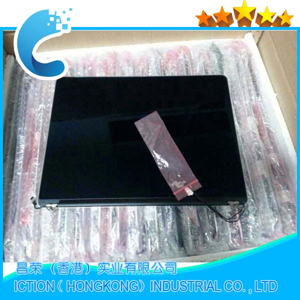 Véritable A1398 Mi 2012 Début 2013 LCD LED Assemblée D'écran pour MacBook Pro 15 661-6529 661- 7171 EMC 2512 EMC 2673