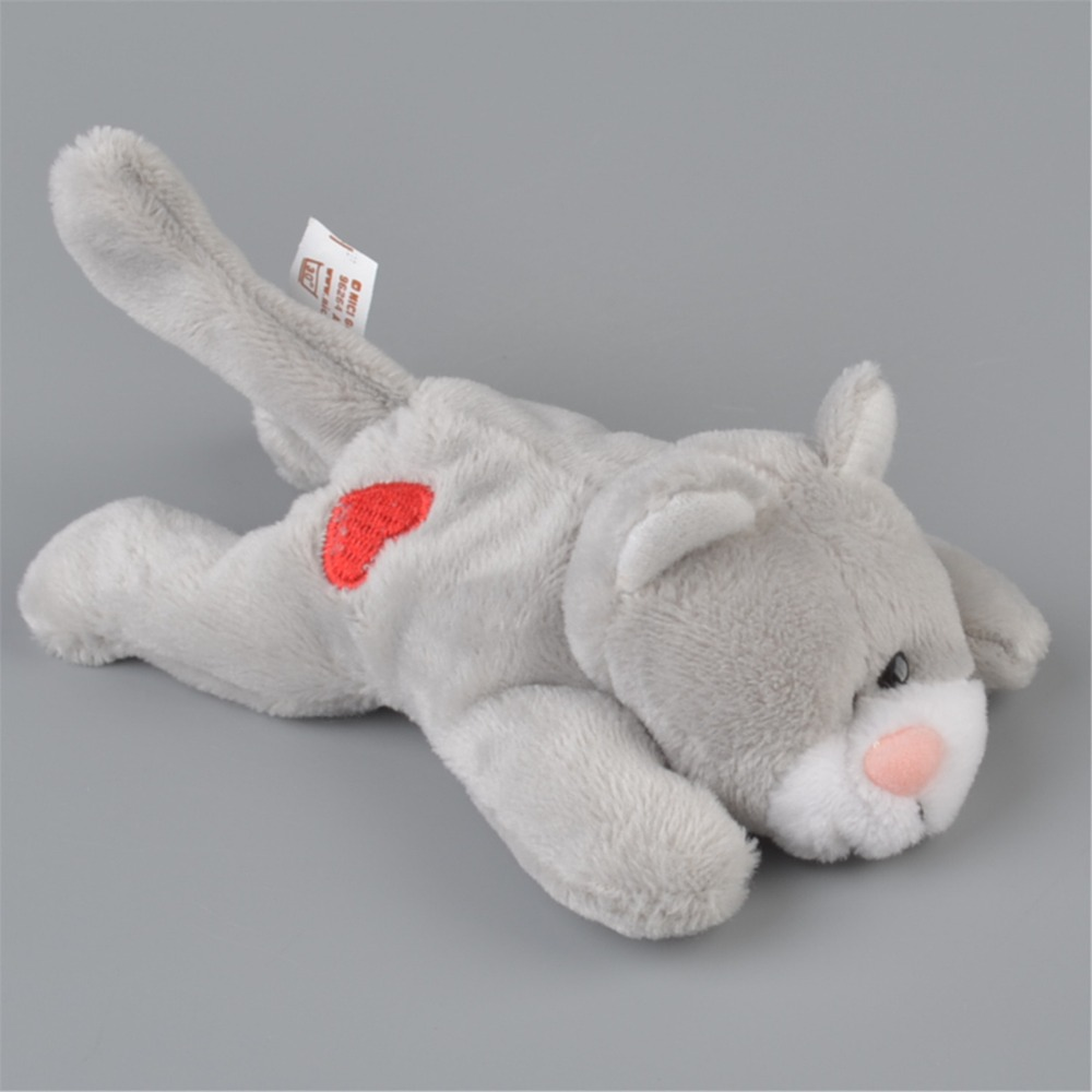 5 Pcs Grey Color Civet Cats Stuffed Plush Fridge Magnet Kids Learning Home Decoration Gift Free