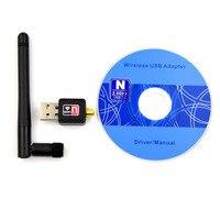 Adeept New USB WiFi Wireless Adapter Dongle Thẻ LAN 802.11n/g/b Antenna cho Raspberry Pi tai nghe diy diykit