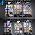 12 Colores Diamante Brillante de Colores Paleta de Sombra de Ojos de Larga Duración de Maquillaje Brillo Paleta de Sombra de ojos Maquillaje Herramientas de Cosméticos 2HY03