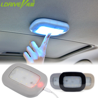 Car Roof Reading Light USB Charging Magnet Auto Day Light Trunk Day Time Interior Square Dome