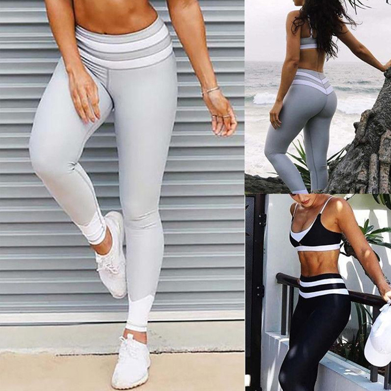 High Waist Super Stretch Workout Trousers Women Slim Elastic Leggings Comfortable Spring Women Pants