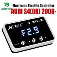 자동차 전자 스로틀 컨트롤러 레이싱 가속기 audi s4 (8 k) 2008-2019 튜닝 부품 액세서리 용 강력한 부스터