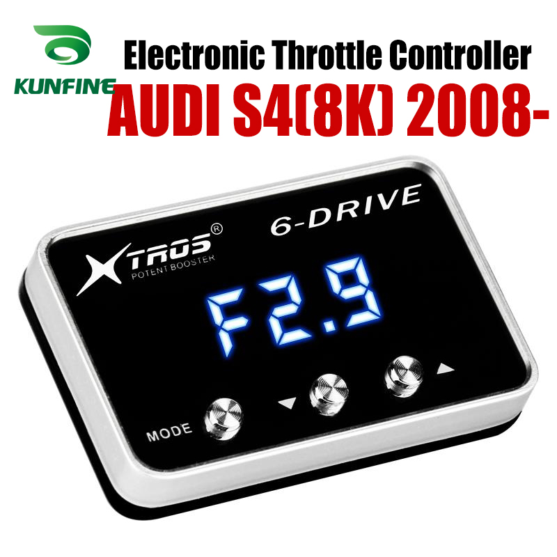 Car Electronic Throttle Controller Racing Accelerator Potent Booster For AUDI S4(8K) 2008-2019 Tuning Parts Accessory Car Electronic Throttle Controller Racing Accelerator Potent Booster For AUDI S4(8K) 2008-2019 Tuning Parts Accessory