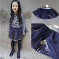 &E-babe& Wholesale NEW Baby Girls Spring Summer Fluffy Petti Skirts Kids Tutu Princess Party  Sequined Tulle Skirt Free shipping