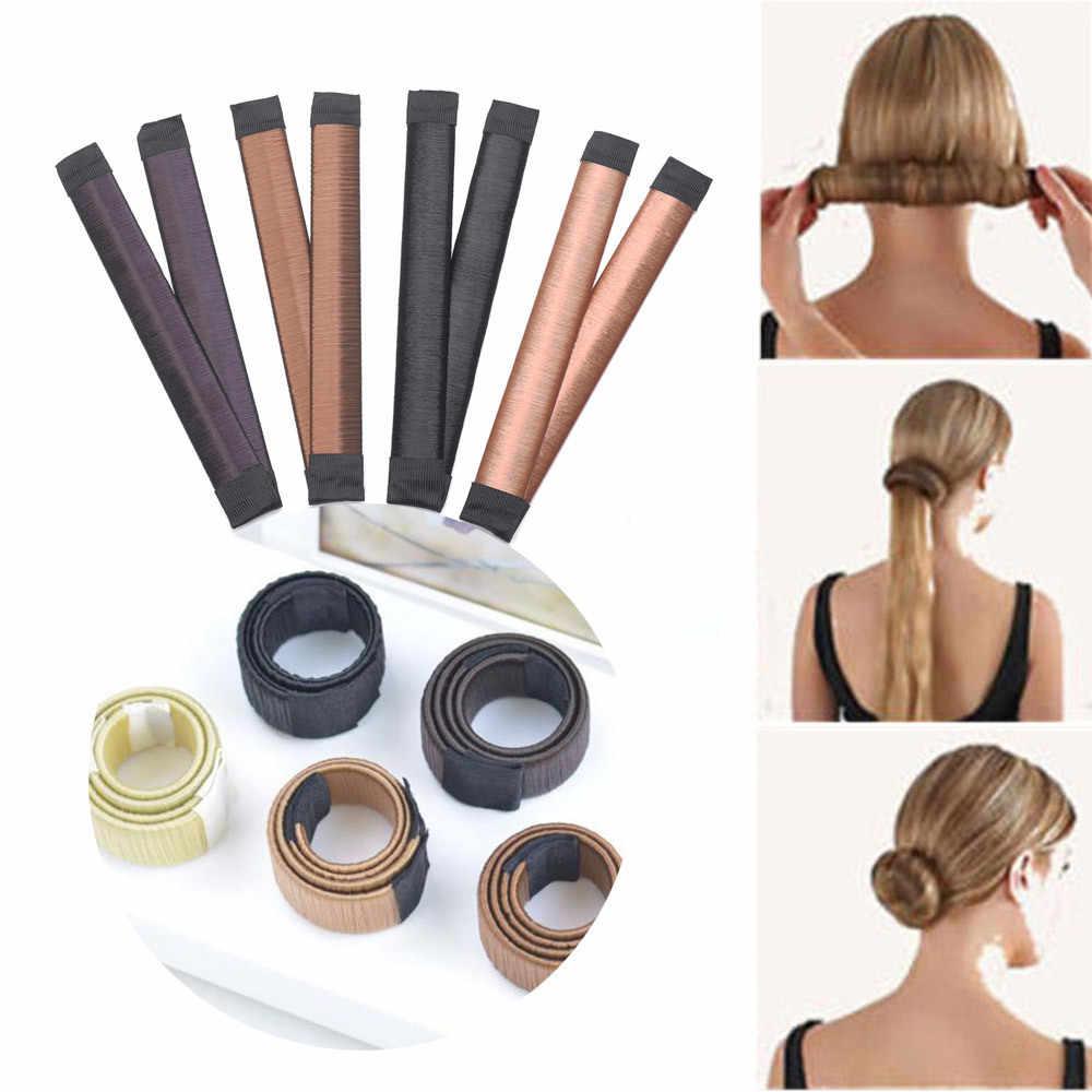 Новые Волшебные Инструменты для укладки волос многофункциональные волосы, Пончик, аксессуары для волос для девочек, Твистер для волос, магический инструмент для самостоятельной сборки, заколка для пучка волос