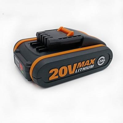 Meilleure batterie 20 V 4500 mah Li-ion pour outil électrique Worx WX390/WX176/WX166.4/WX372.1 WX800/WX678/WX550/WX532/WG894E WG629E/WG329E/WG2