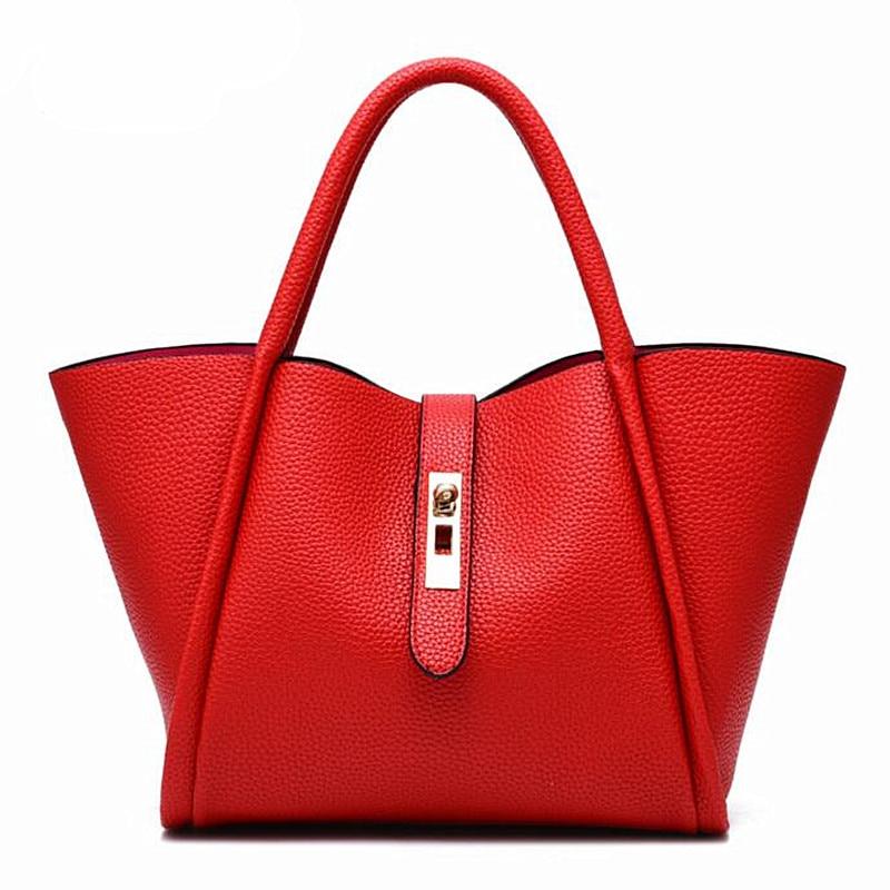 ФОТО 2016 Fashion Designer Brand Women Leather Handbags Ladies Shoulder Bags Tote Bag Female Retro Vintage Messenger Bags  Z185