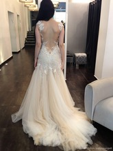 free shipping 2013 hot sale new design white sexy long sleeve backless customize color zuhair murad Cocktail Dresses with jacket