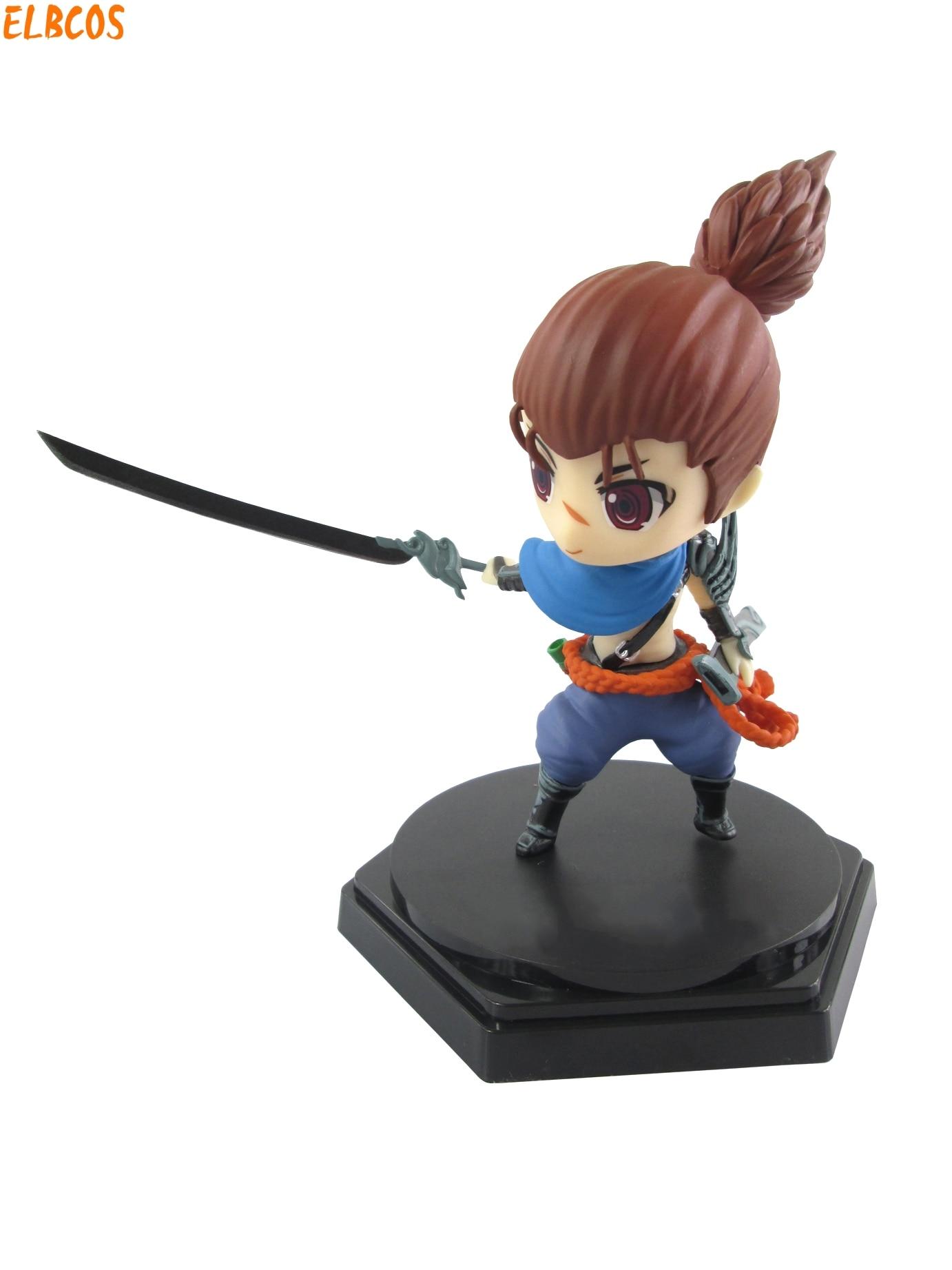 The Unforgiven Yasuo Q Version 15cm/5.9'' Boxed HI-Q PVC Action Figures Toys Model тарелка хай хэт zultan 14 q hi hat