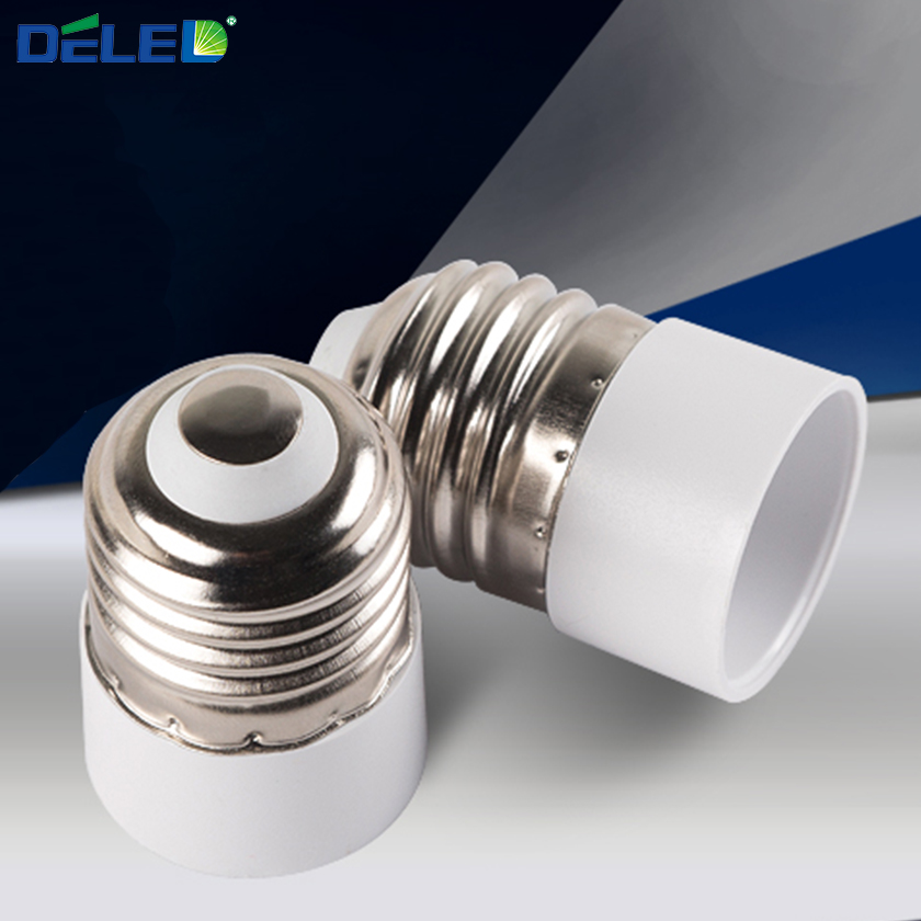 1PCS Lamp Holder Converters E27 to E14 Lamp Bulb with Fireproof Material Adapter Converte for Corn
