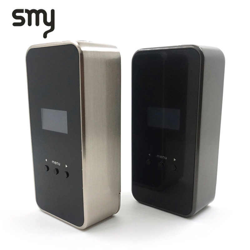 Original SMY 50 TC Mod electronic cigarette mod 18650 battery Vape box Mod Temperature Control mod fit 510 thread atomizer vape