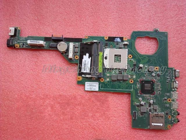 45 días de garantía madre del ordenador portátil para hp dv4-5000 676756-001 para intel cpu con tarjeta gráfica integrada 100% probado completamente