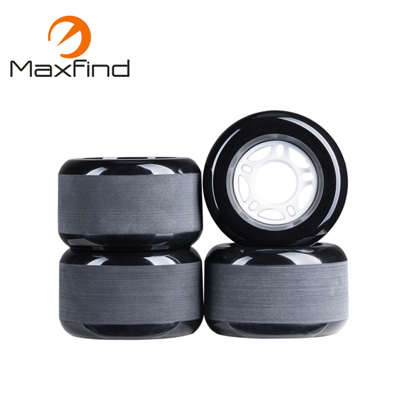Maxfind 80A Colorful Electric Skateboard Wheels 70*42mm 70*51mm PU Skateboard Wheels (Pack Of 4)
