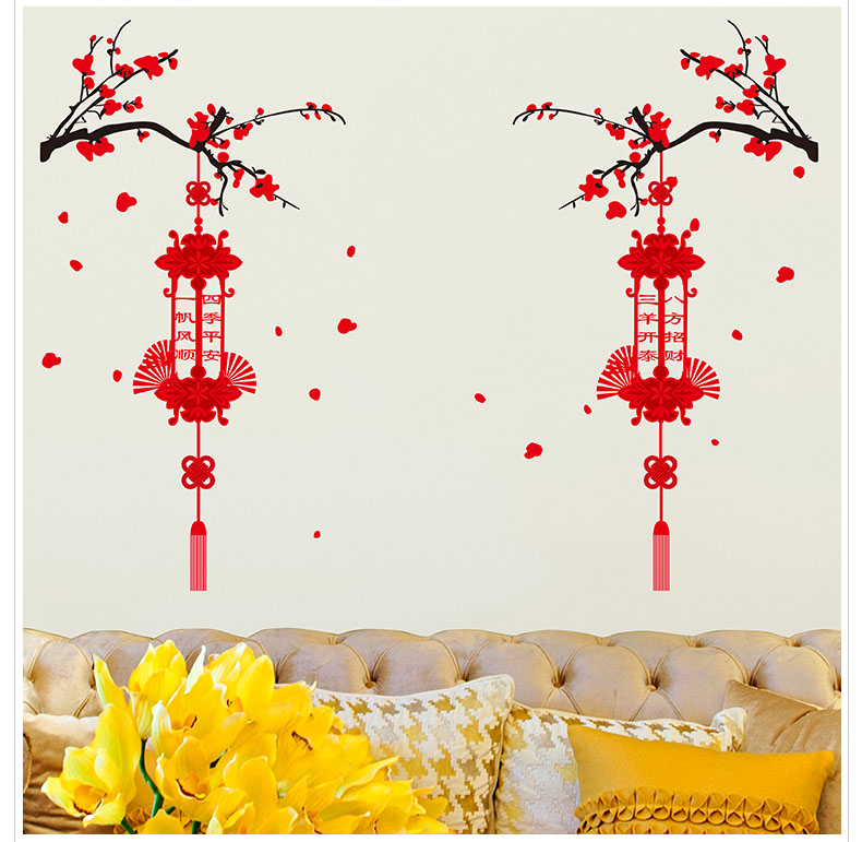 New Arrival Chinese Lanterns Room House Glass Decoration