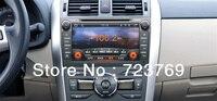 Автомобильный DVD Радио для Toyota COROLLA 2008