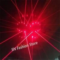 TT03 Red Laser bra/ bar party props costumes performing luminous clothing/ballroom dance laser man show