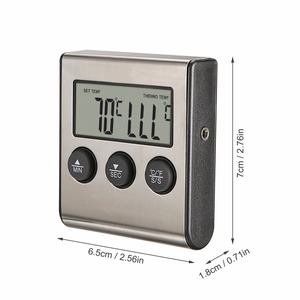 Image 5 - MOSEKO Digital Oven Thermometer Kitchen Food Cooking Meat BBQ Probe Thermometer With Timer Water Milk Temperature Cooking Tools