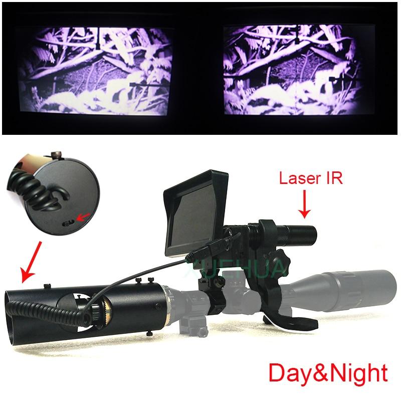 Outdoor Hunting Optics Monocular Tactical Digital Laser Infrared Night Vision Telescope Binoculars With IR For Sight