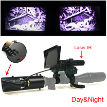 Wholesale prices Outdoor Hunting optics monocular Tactical digital Laser Infrared night vision telescope binoculars with IR For Sight