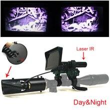 Outdoor Jagd optik monokulare Taktische digitale Laser infrarot-nachtsicht-teleskop fernglas mit IR Für Anblick
