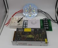122mm 21leds 5 channels Led lamp +ldd 350h 5up driver+dimmer controller diy kits