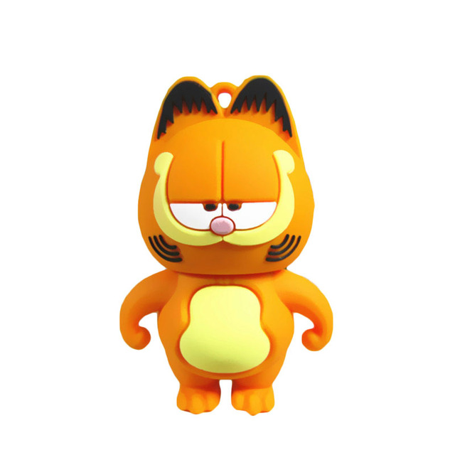 Garfield cat Sleepy Pen Drive 4GB 8GB 16GB 32GB 64GB Usb Flash Drive
