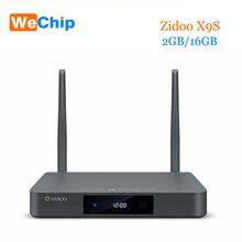 Оригинальный zidoo X9S Android 6.0 TV Box 2 г 16 г OpenWRT двойная система media player RTD1295 quad-core Двойной Wi-Fi 802.11 ac Отт tv box